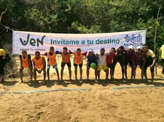 Se realizó 1era valida fútbol playa en Achaguas. Apure.