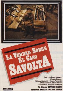 La verdad sobre el caso Savolta [Vídeo] / dirigida por Antonio Drove ; guión, Antonio Drove y Antonio Larreta ; música, Agisto Macchi ; fotografía, Gilberto Azevedo.