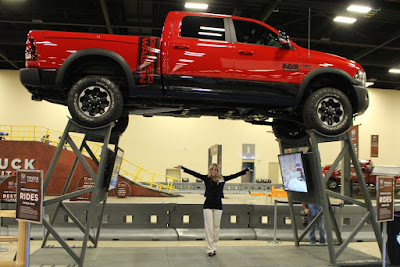 The 60,000-square-foot indoor interactive ride event allows passengers to experience capabilities of the RAM truck brand.