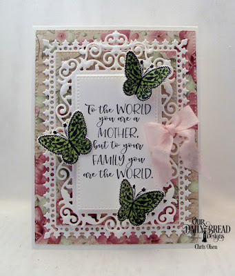 Our Daily Bread Designs Stamp/Die Duos: The Greatest Gift, Custom Dies:  Lavish Layers, Pierced Rectangles, Filigree Frames, Paper Collection:Romantic Roses