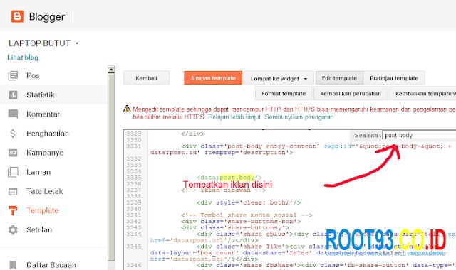 mencari kode post body