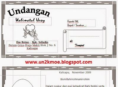download gratis contoh surat undangan walimatul ursy sederhana terbaru.doc
