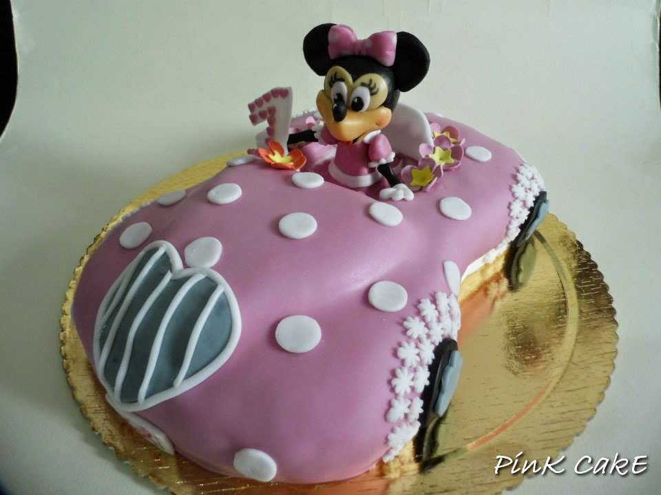 Diy Fab Minnie Mouse Car Cake The Idea King