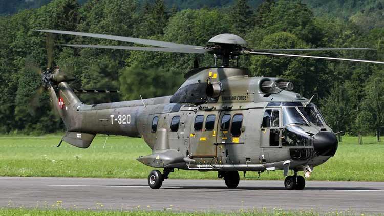 Super Puma Helikopter