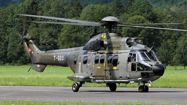 Helicopter AS332 Super Puma
