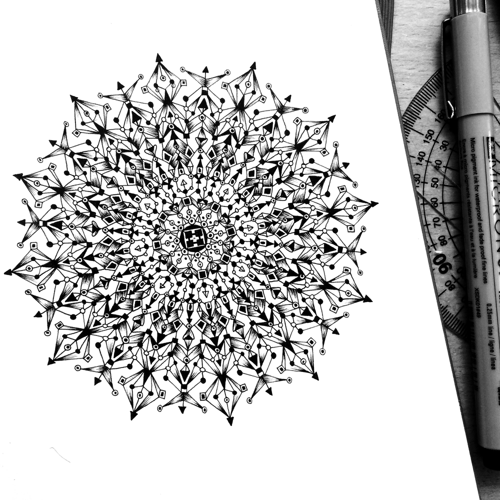 08-Constellation-Pavneet-SembhiSelf-taught-Artist-Creates-Intricate-and-Detailed-Drawings-www-designstack-co