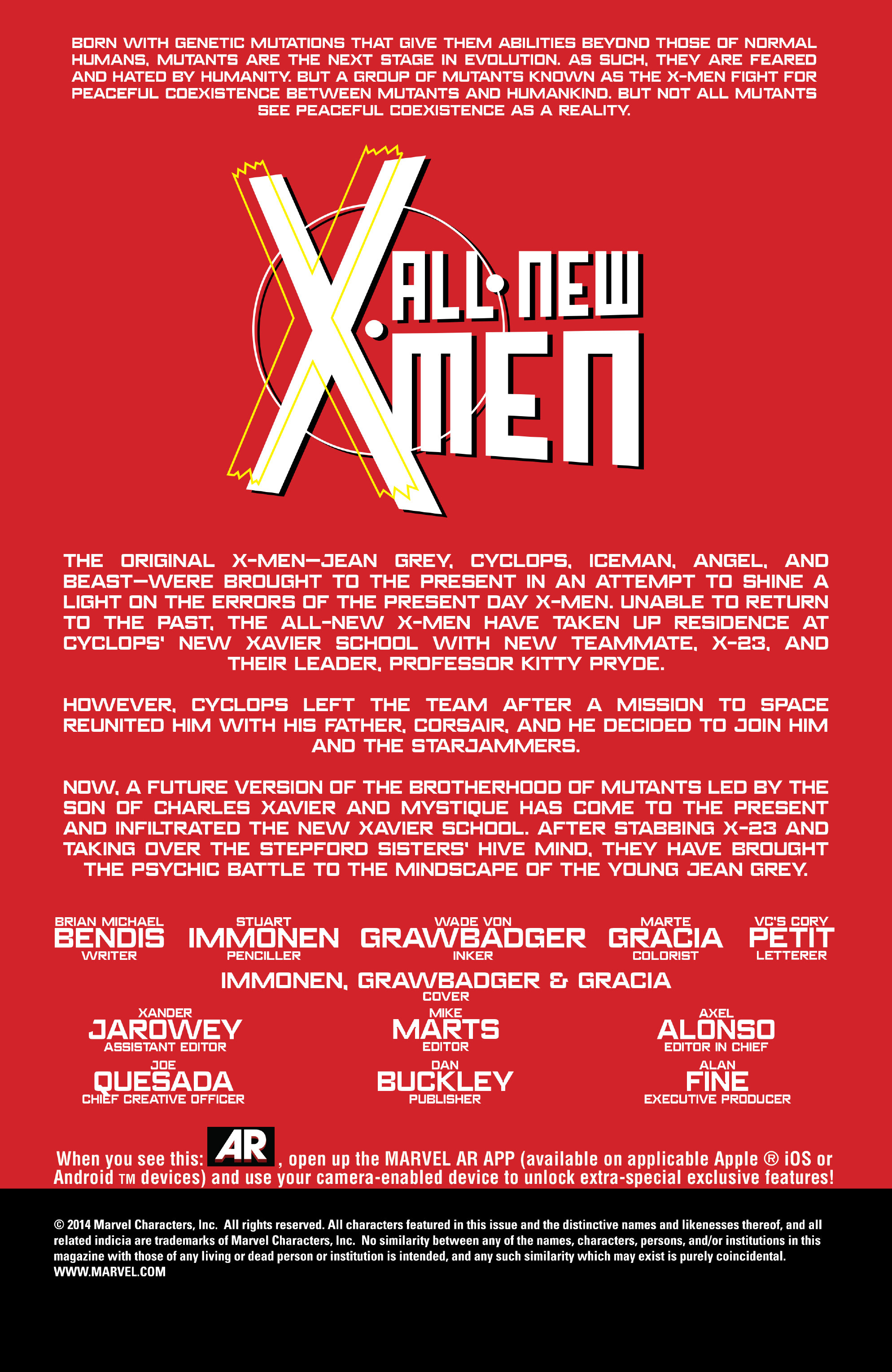 Read online All-New X-Men (2013) comic -  Issue # _Special - One Down - 69