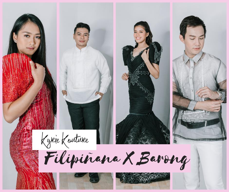 Filipiñana X Barong