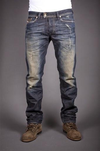 model celana jeans panjang untuk pria terbaru