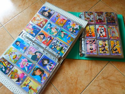 Sailor Moon collection de cartes