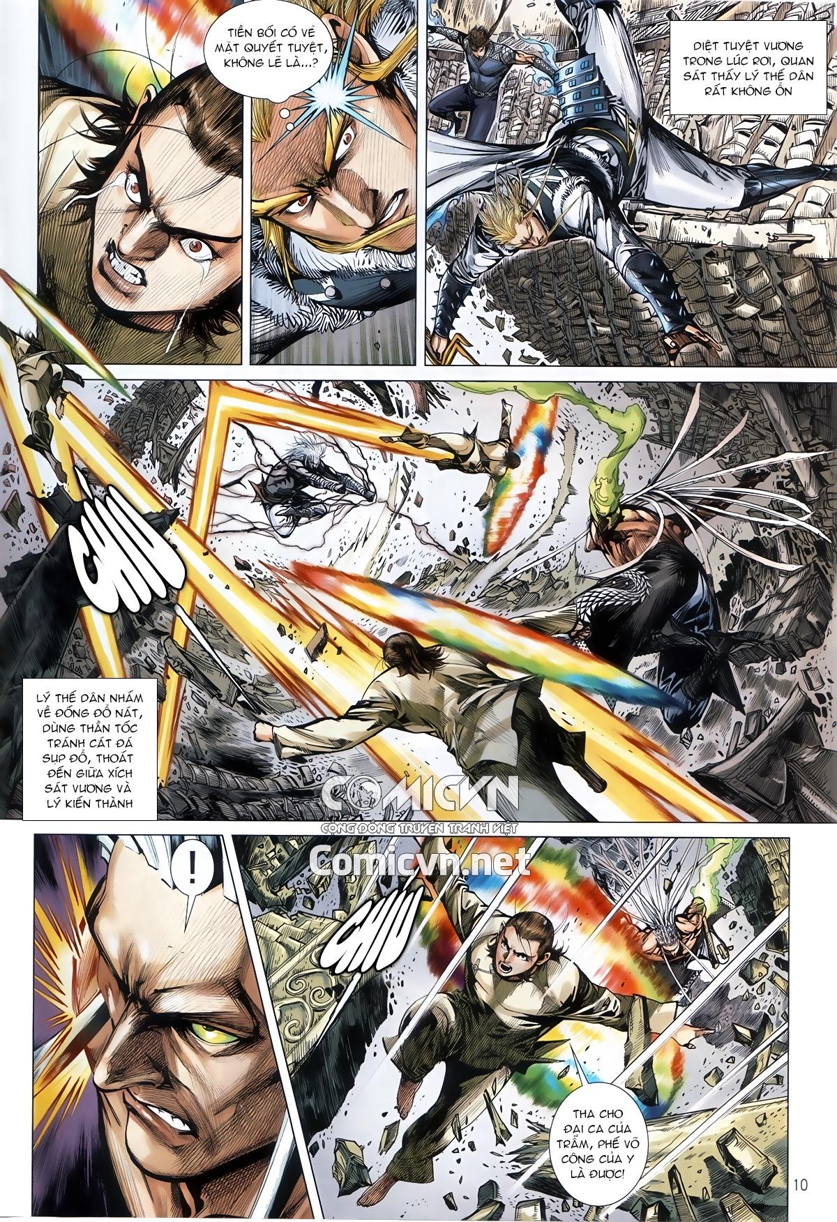 Thiết Tướng Tung Hoành chap 245 - Trang 9