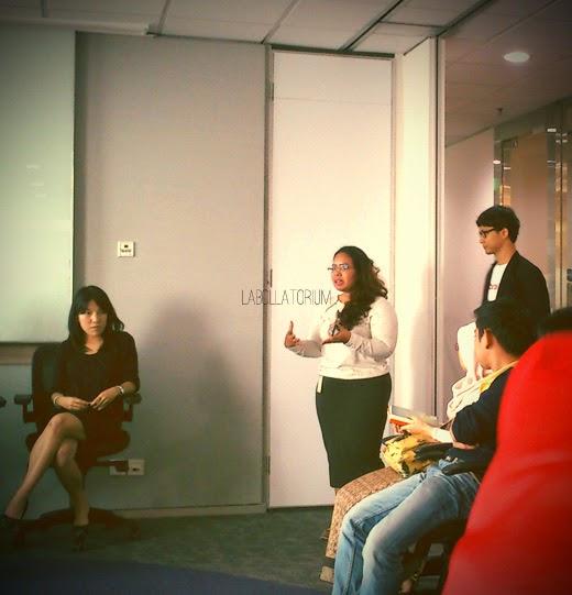 Talk Show & Workshop Menulis Fiksi Bersama Penulis 'Little Stories' di kantor Yahoo Indonesia