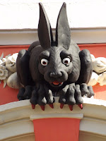 Newcastle's Vampire, Rabbit, Northumbrian Images Blogspot,St Nicholas Cathedral, Public Art, Newcastle,Photos Newcastle Monuments,Northumbrian Images,North East, England,Photos,Photographs