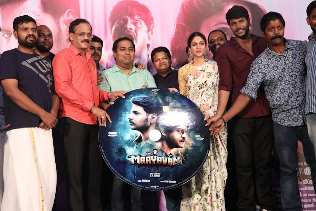 Lavanya Tripathi at Maayavan Tamil Movie Audio Launch
