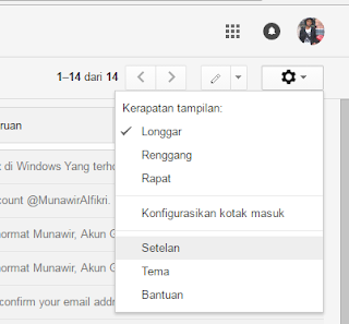 Cara Setting Email Gmail