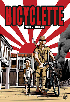couverture de la Bicyclette de Cheah Sinann chez la boîte à bulles