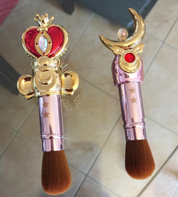 Pinceaux de maquillage Sailor Moon