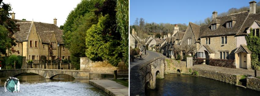 Bourton on the Water e Castle Combe