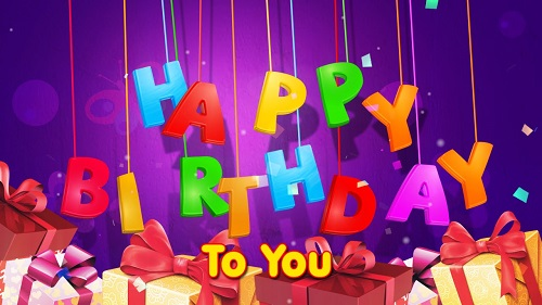 Happy Birthday To You Photo