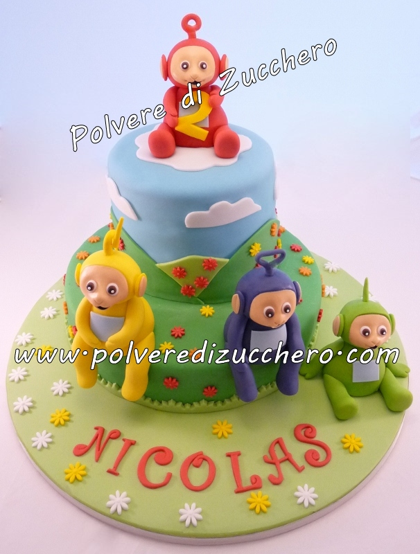 Corso Da Squires Kitchen E Torta Teletubbies Polvere Di
