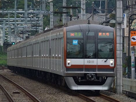 【S-TRAINだけじゃない!】準急 新木場行き 東京メトロ10000系