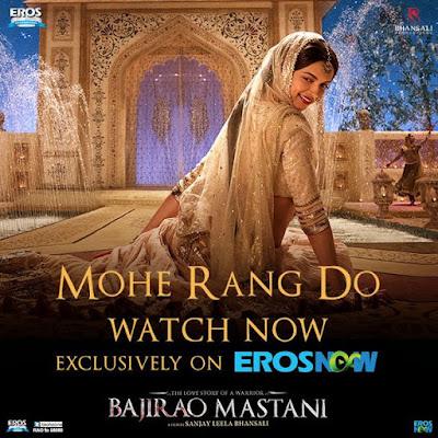 Mohe Rang Do Laal - Bajirao Mastani (2015)