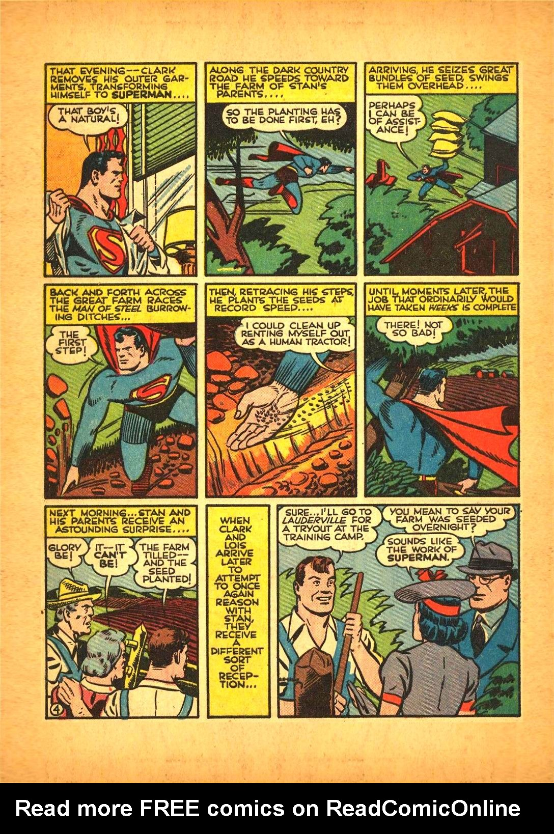 Read online Action Comics (1938) comic -  Issue #50 - 6