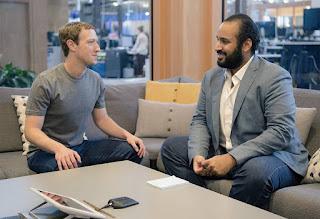 Mohamed bin salman Mark Zuckerberg  2