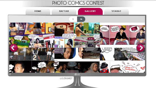 Pengumuman Pemenang LG IT Photo Comic 2015