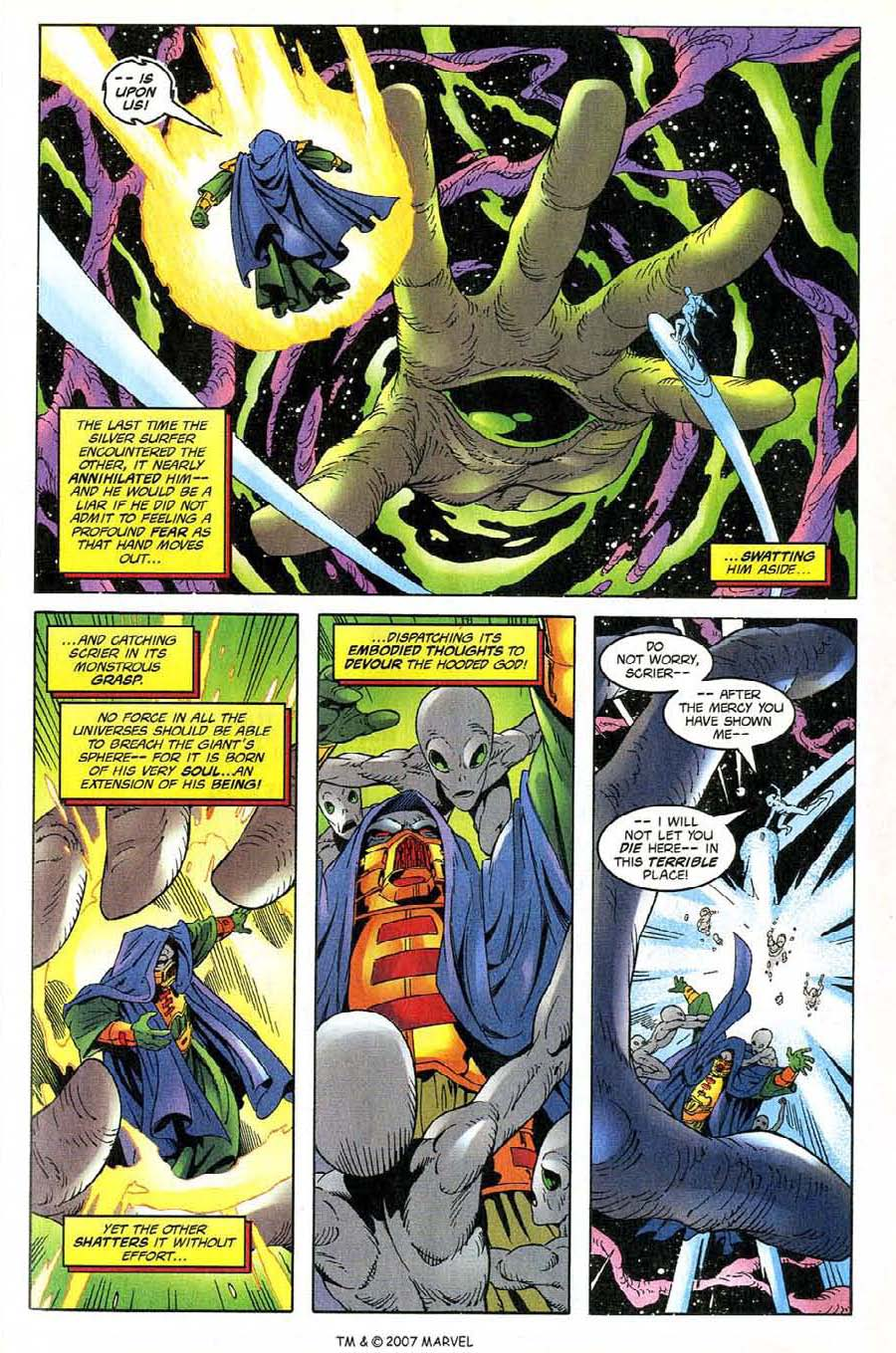 Read online Silver Surfer (1987) comic -  Issue #137 - 27