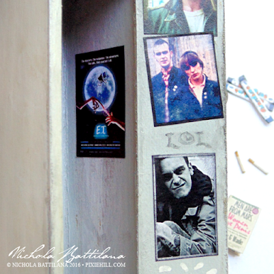 Miniature fan girl locker - Joe Gilgun / Rudy Wade / Misfit / Preacher/ Cassidy Edition - Nichola Battilana