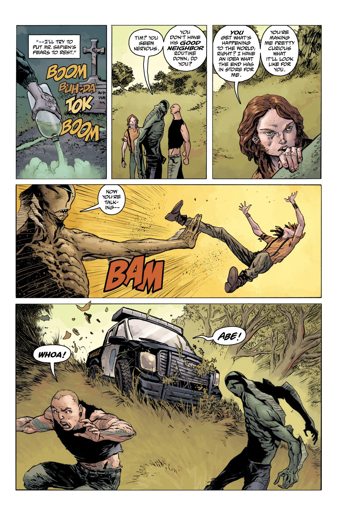 Read online Abe Sapien comic -  Issue #11 - 9