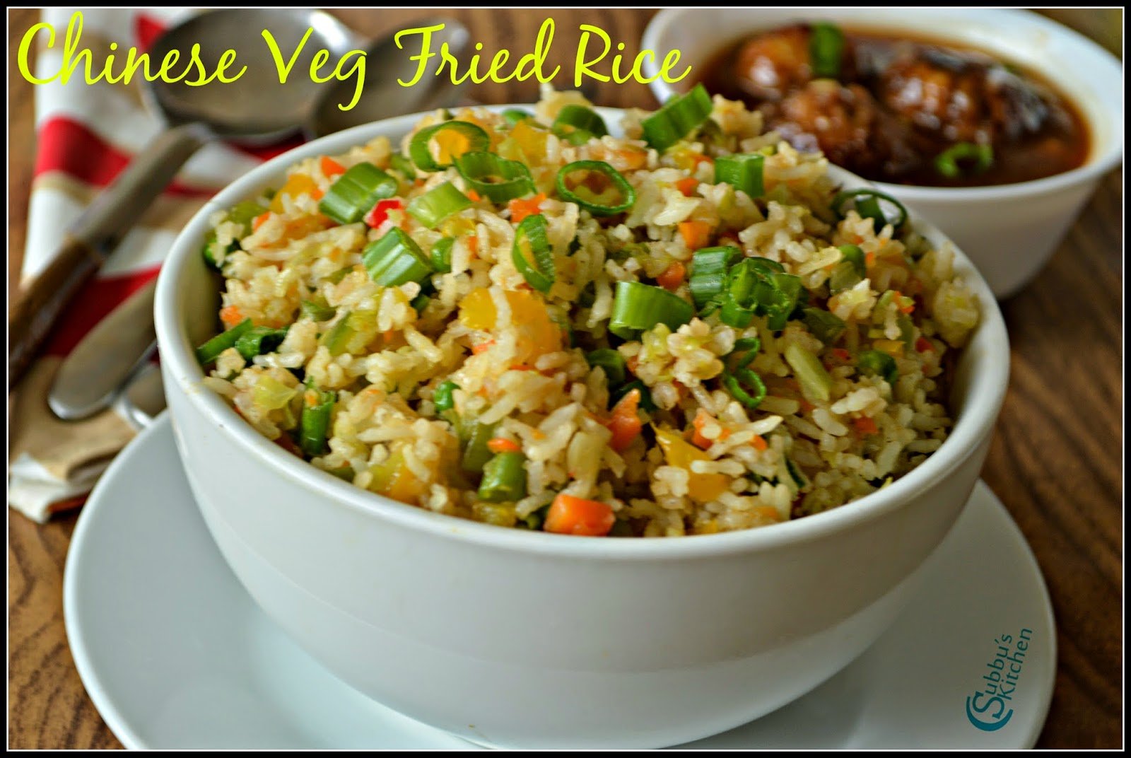 Chinese Vegetable Fried Rice Recipe