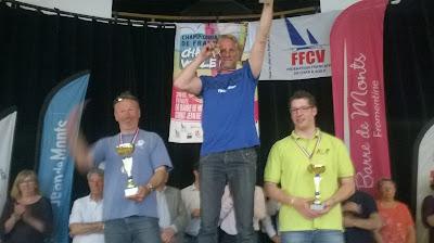 Eric Houvenaghel champion de France char à voile 2015 plume kart