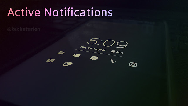 Active Notifications