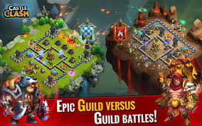 Game Castle Clash Rise of Beasts V1.3.16 MOD APK + DATA OBB