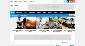 Rin Magz Free Blogger Template