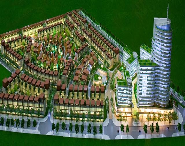 Phối cảnh khu đô thị The Manor Lào Cai