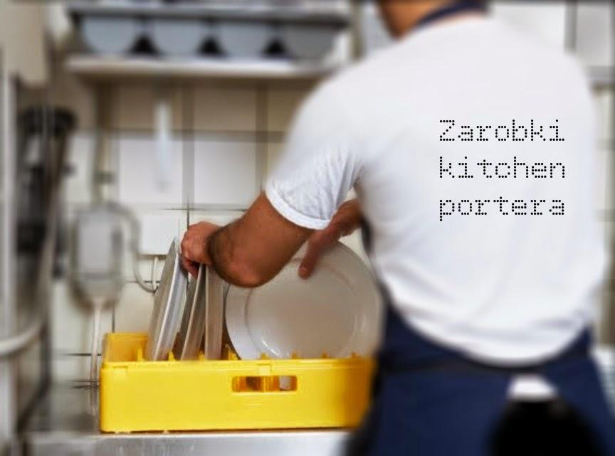 Praca na zmywaku - Zarobki w Londynie