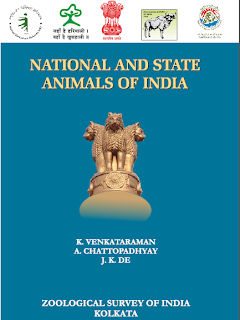 National and State Animals of India, Publisher: Zoological Survey of India