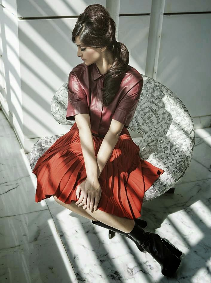 Sonam Kapoor Photoshoot for Harper Bazaar