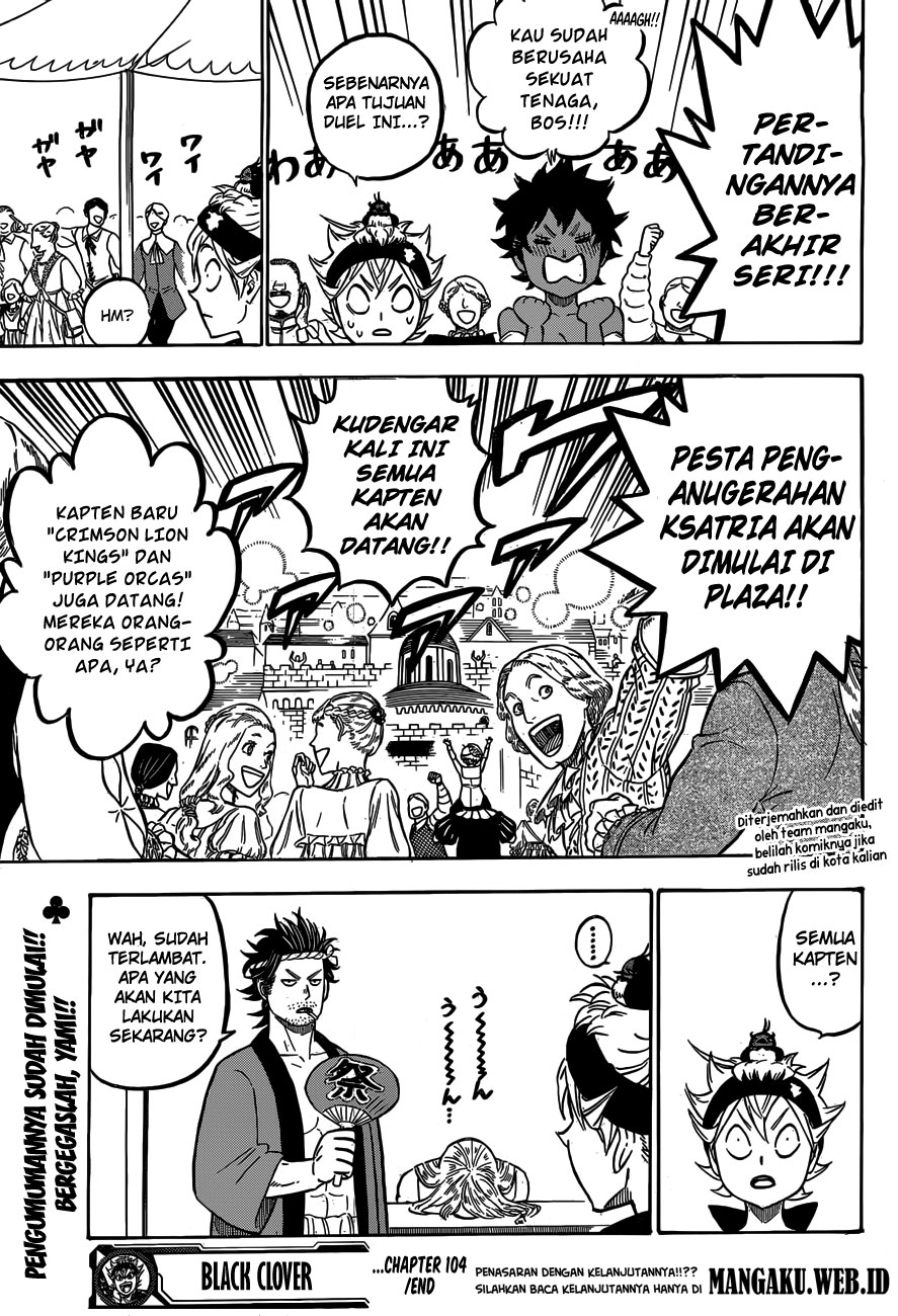 Black Clover Chap 104 Bahasa Indo