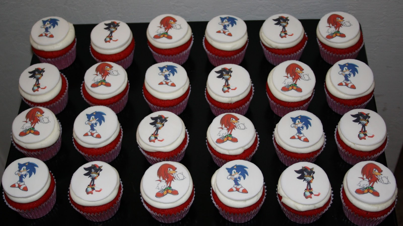 Jacqueline's Sweet Shop: Sonic the Hedgehog, Knuckles, and Shadow