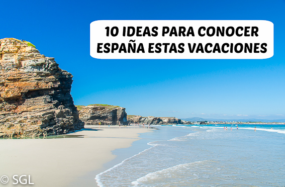 Galicia y la playa de las catedrales. 10 ideas para conocer España estas vacaciones