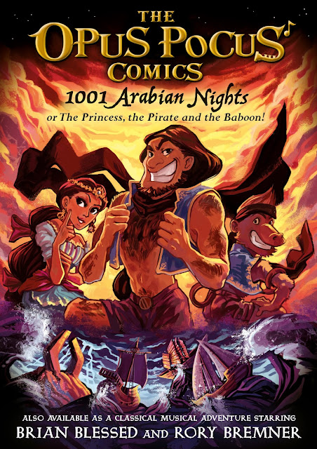 The Opus Pocus Comics: 1001 Nights cover