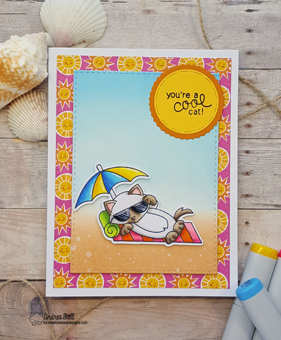 You're a cool cay by Andrea features Newton's Summer Vacation by Newton's Nook Designs, #newtonsnook