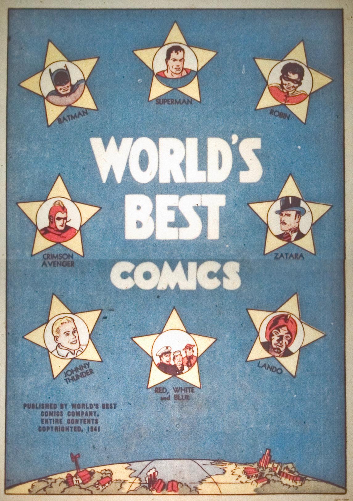 Read online World's Finest Comics comic -  Issue #1 - 2