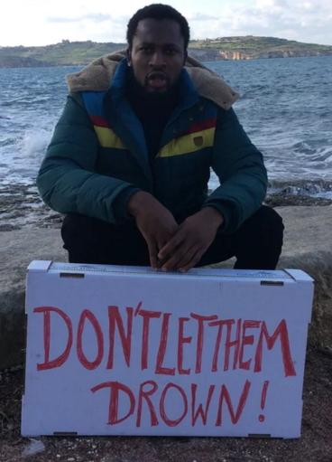 nigerians drown Mediterranean sea
