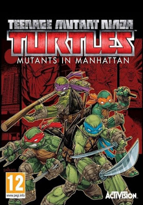 GameGokil.com -  Teenage Mutant Ninja Turtles Mutants in Manhattan Single Link Iso