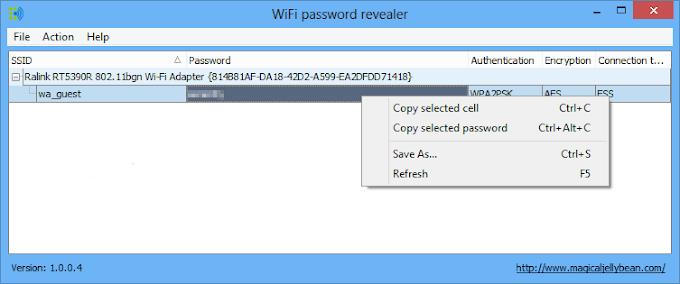 WiFi Password Revealer - Δωρεάν πρόγραμμα για να ανακτήσεις τους WiFi κωδικούς